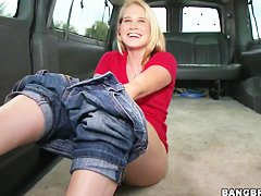 Payton Renee gets naked in bang bus